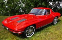 Chevrolet Corvette, coches del vintage Imagenes de archivo