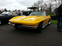 Chevrolet Corvette convertible. Goodwood Soft Top Sunday 2014 Royalty Free Stock Image