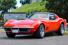 The Chevrolet Corvette Coupe royalty free stock photo
