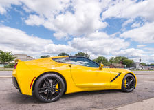 2014 Chevrolet Corvette, croisière de rêve de Woodward, MI Photo stock