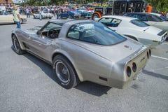 1982 chevrolet corvette cross-fire injection Stock Photos