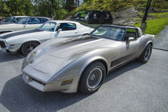 1982 chevrolet corvette cross-fire injection Royalty Free Stock Photos
