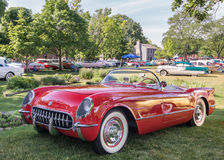 1955 Chevrolet Corvette Royalty Free Stock Photo