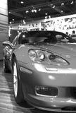 Chevrolet corvette frontlights Stock Photography