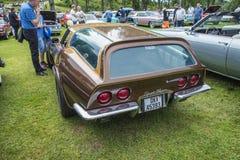1971 Chevrolet Corvette, miller цыпленка, любопытство Стоковые Фотографии RF
