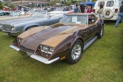 1971 Chevrolet Corvette, mugnaio del mandrino, una curiosità Fotografia Stock Libera da Diritti