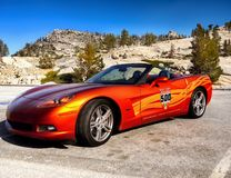 Chevrolet Corvette Sports Car royalty free stock photography