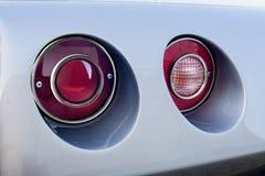 Chevrolet Corvette Rücklichter Stockfoto