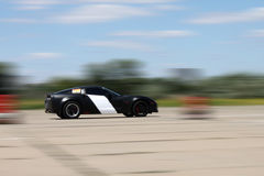 Chevrolet corvette on a race Royalty Free Stock Photography