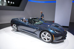 Chevrolet Corvette Stingray convertible Royalty Free Stock Photos