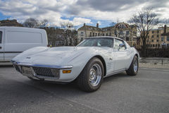 1971 Chevrolet Corvette Stingray 454 Royalty Free Stock Photo