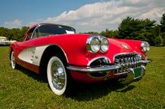 Chevrolet Corvette stingrocka 1957 Arkivfoton
