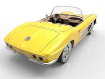 Chevrolet Corvette 1958 Royalty Free Stock Photo