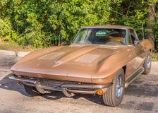 1963 Chevrolet Corvette. Woodward Dream Cruise, MI Stock Images