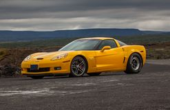 Chevrolet Corvette 2005 Z06 Images libres de droits