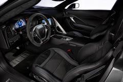 Chevrolet Corvette 2015 Z06 Fotos de Stock Royalty Free