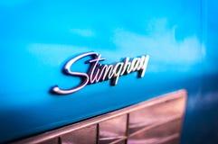 Chevrolet- Corvettestichstrahl Stockfotografie