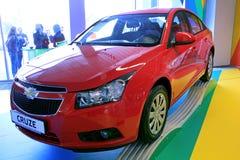 Chevrolet Cruse. KIEV - SEPTEMBER 10: Yearly automotive-show Capital auto show 2010. September 10, 2010 in Kiev, Ukraine. Chevrolet Cruse Stock Photo
