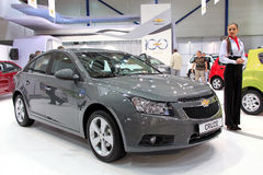 Chevrolet Cruse. KIEV - SEPTEMBER 10: Chevrolet Cruse at yearly automotive-show Capital auto show 2011. September 10, 2011 in Kiev, Ukraine Stock Photography