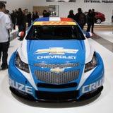 Chevrolet Cruze - champion 2010 du monde de WTCC Photos stock