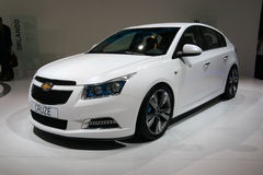 Chevrolet Cruze at Paris Motor Show Stock Images
