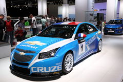 Chevrolet Cruze Racing Car Stock Images