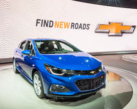 2016 Chevrolet Cruze RS Obrazy Royalty Free