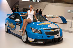 Chevrolet Cruze WRC edition Stock Images