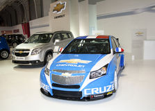 Chevrolet Cruze WTCC edition Royalty Free Stock Images