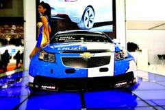 Chevrolet Cruze - WTCC World Champion 2010. From autoshow in istanbul, 2010, turkey stock photo