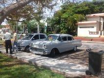 56 Chevrolet 4 dörrsedan Royaltyfria Bilder