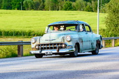 Chevrolet 2103 4 D sedan 1953 Royalty Free Stock Images