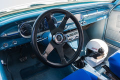 Chevrolet dashboard on detail Stock Images