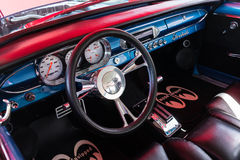 Chevrolet dashboard on detail Royalty Free Stock Photo