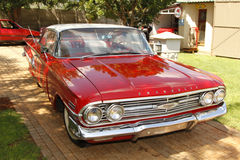 1960 Chevrolet-de Bovenkant van de Impalabel Stock Afbeelding