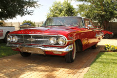 1960 Chevrolet-de Bovenkant van de Impalabel Royalty-vrije Stock Afbeeldingen