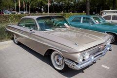 1961 Chevrolet-de uitstekende auto van de Impalacoupé Stock Fotografie