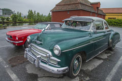 1950 chevrolet deluxe coupe Royalty Free Stock Images