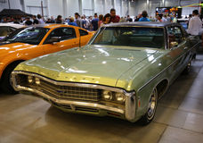 Chevrolet displayed at 3rd edition of MOTO SHOW in Cracow Poland. Royalty Free Stock Images
