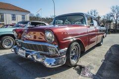 1956 chevrolet 4 door sedan Stock Photos