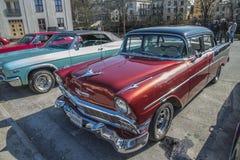 1956 chevrolet 4 door sedan Royalty Free Stock Images