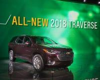 2018 Chevrolet-Doortocht Stock Afbeeldingen