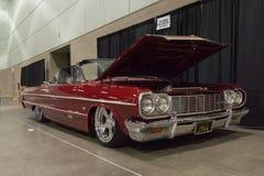 Chevrolet-douane van de Impala de klassieke auto Royalty-vrije Stock Foto