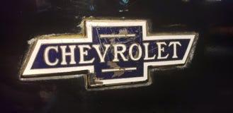 Chevrolet emblem arkivbild
