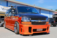 Chevrolet Express Van in a Show Stock Photography
