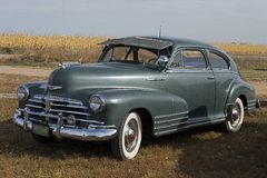1948 Chevrolet Fleetline 2DR AeroSedan royalty free stock photos