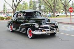 Chevrolet Fleetmaster classic car on display Stock Image