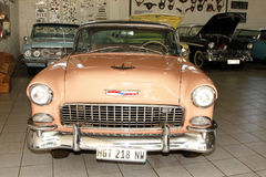 Chevrolet-hartes Spitzencoupé 1955 Lizenzfreies Stockbild