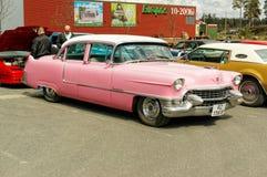 Chevrolet i rosa färger Arkivbilder