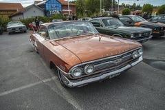 1960 Chevrolet Impala 2 πόρτα Hardtop Στοκ φωτογραφίες με δικαίωμα ελεύθερης χρήσης